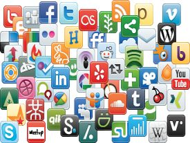 Gran Actividad en los Perfiles de las Principales Redes Sociales