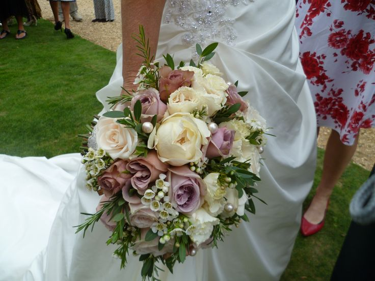 Antique Wedding Bouquets | Jo Hicks Floristry » English Country Garden Shabby Chic Style for ...
