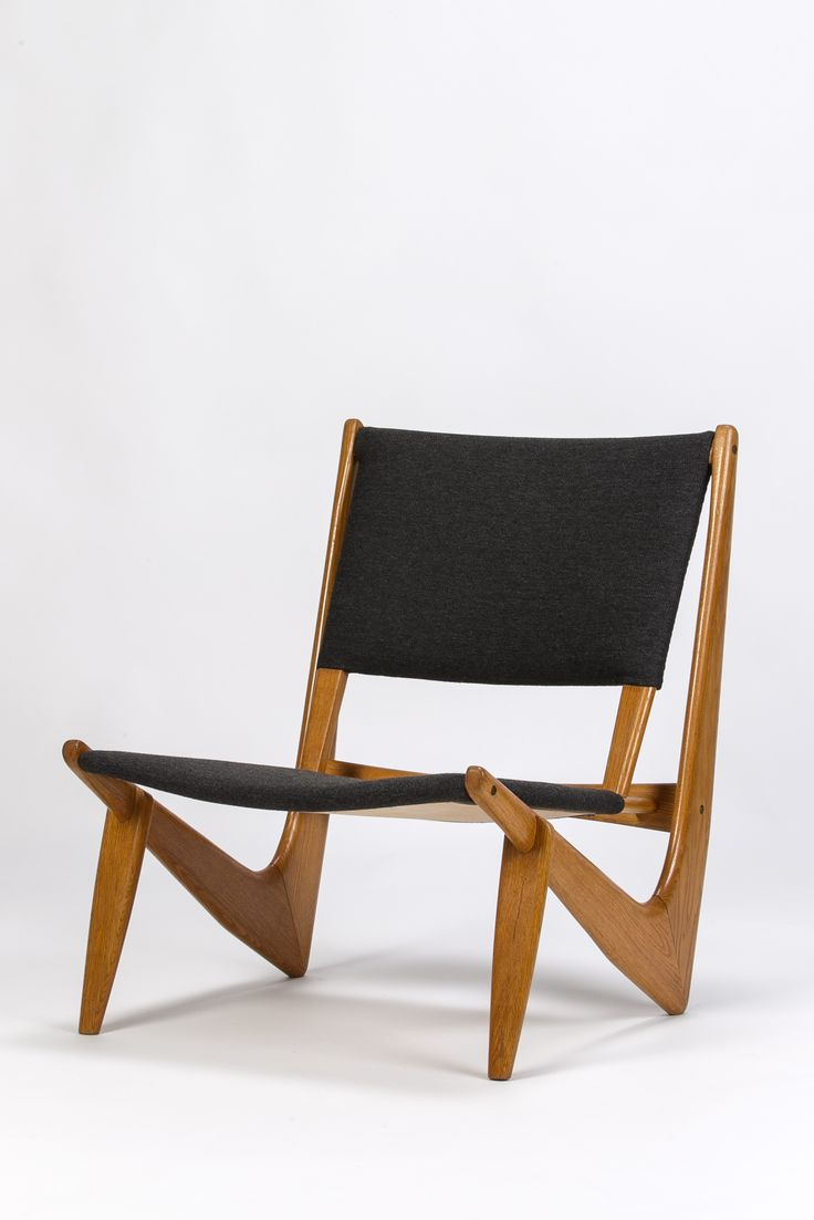 Yngve Ekström; 'Boomerang' Chair, 1950s.