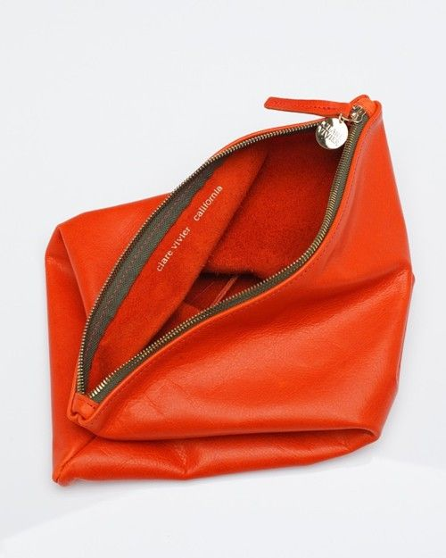 so clutch! @Clair Miller by clare vivier <-- look at her online