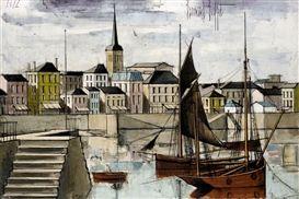 'Les Sables d'Olonne, Le Port' - By Bernard Buffet