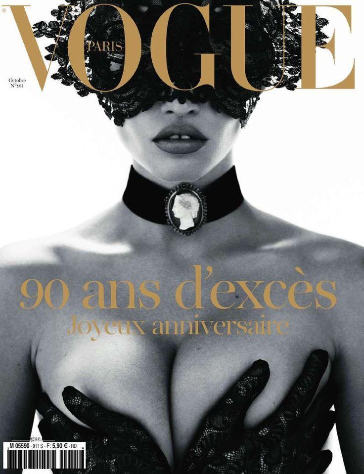 Vogue Paris October 2010 Cover (Vogue Paris) - Lara Stone on models.com
