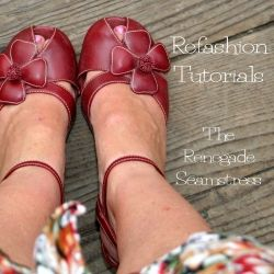 Learn how to refashion thrift store clothes into perfectly fitting and stylish outfits with these easy to follow photo tutorials.