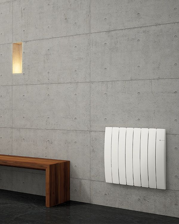 Oil-filled or heating stone electric radiators   DL Radiators. #design #radiators #interiordesign #DLRadiators #inspiration #minimal #architecture