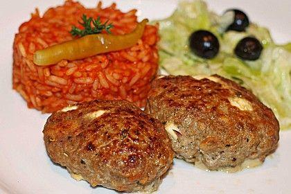 botos Bifteki mit griechischem Tomatenreis, ein leckeres Rezept aus der Kategorie Griechenland. Bewertungen: 118. Durchschnitt: Ø 4,6.