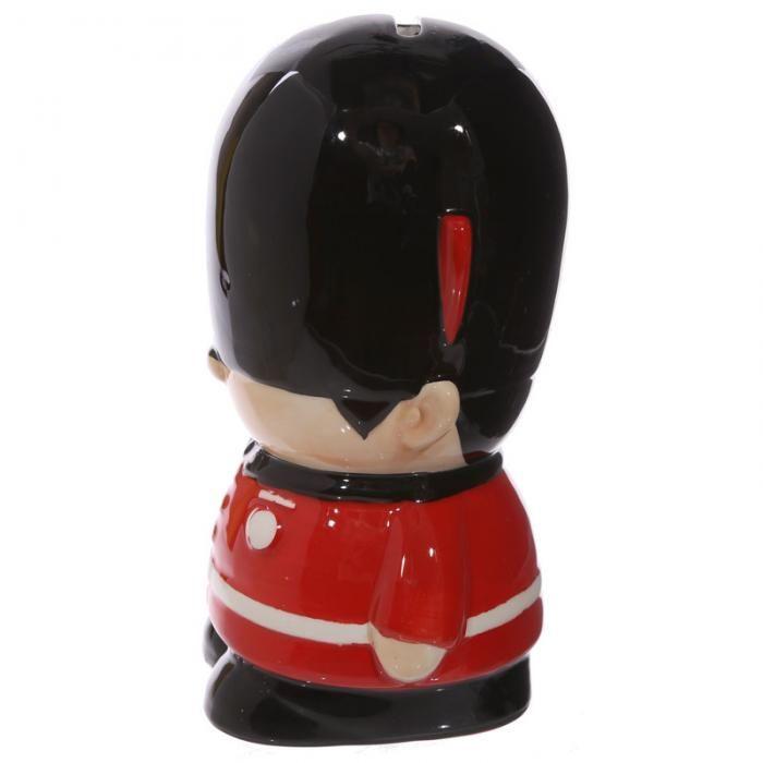 Keramická pokladnička Londýnská stráž #pokladnička #keramika #LondonIcons #moneybox #giftware