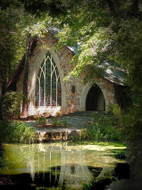 fatinia:    Chapel, Callaway Gardens, Georgia