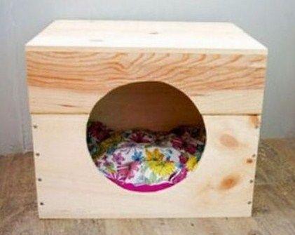 Idées pour recycler des caisses à vin