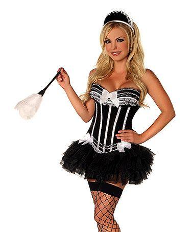 Black French Maid Costume Set - Women & Plus #zulily #zulilyfinds