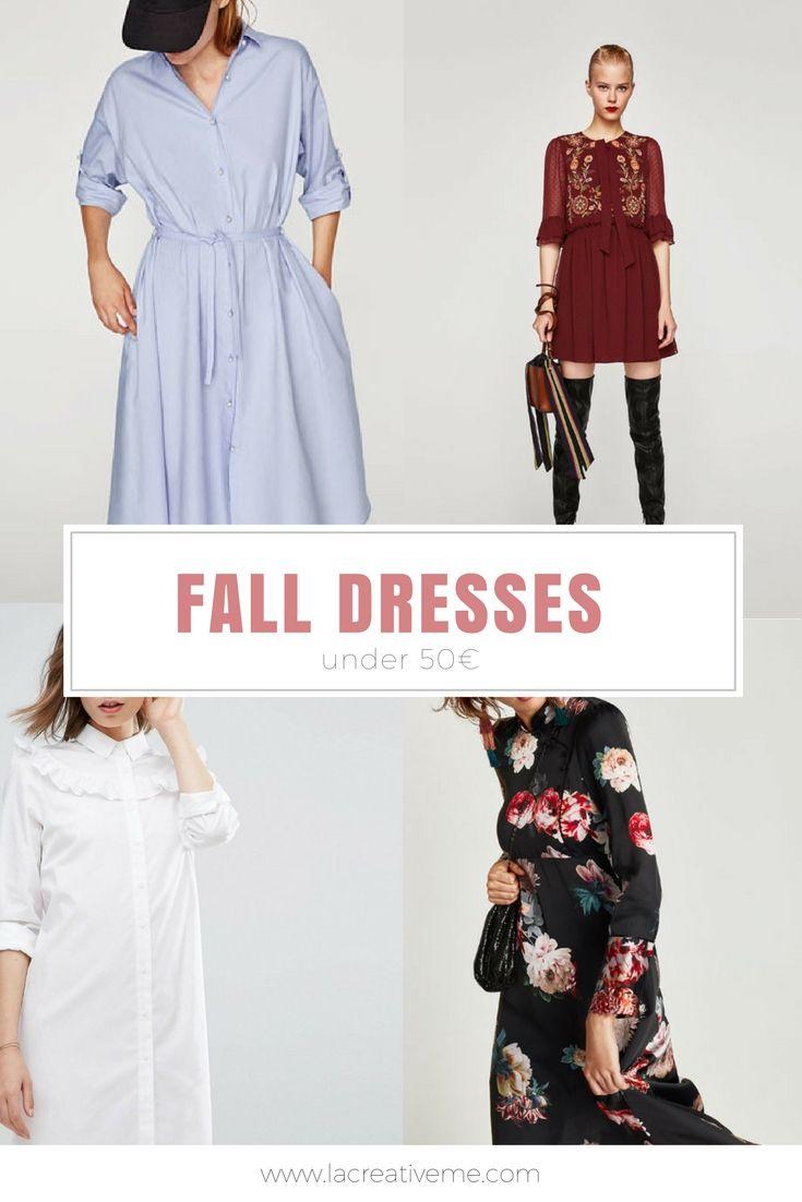Φθινοπωρινά φορέματα κάτω των 50€