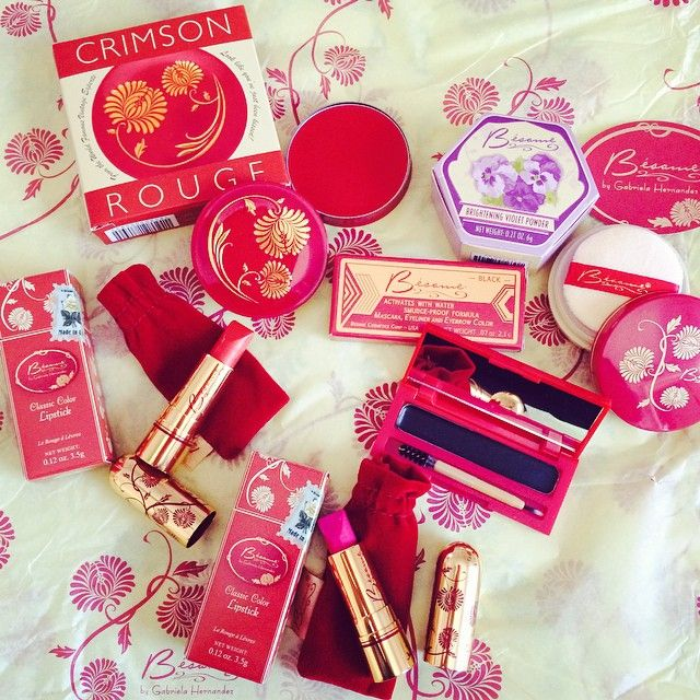 Bésame Cosmetics a luxury vintage makeup brand which honors the style, spirit, & sensibility of female beauty.