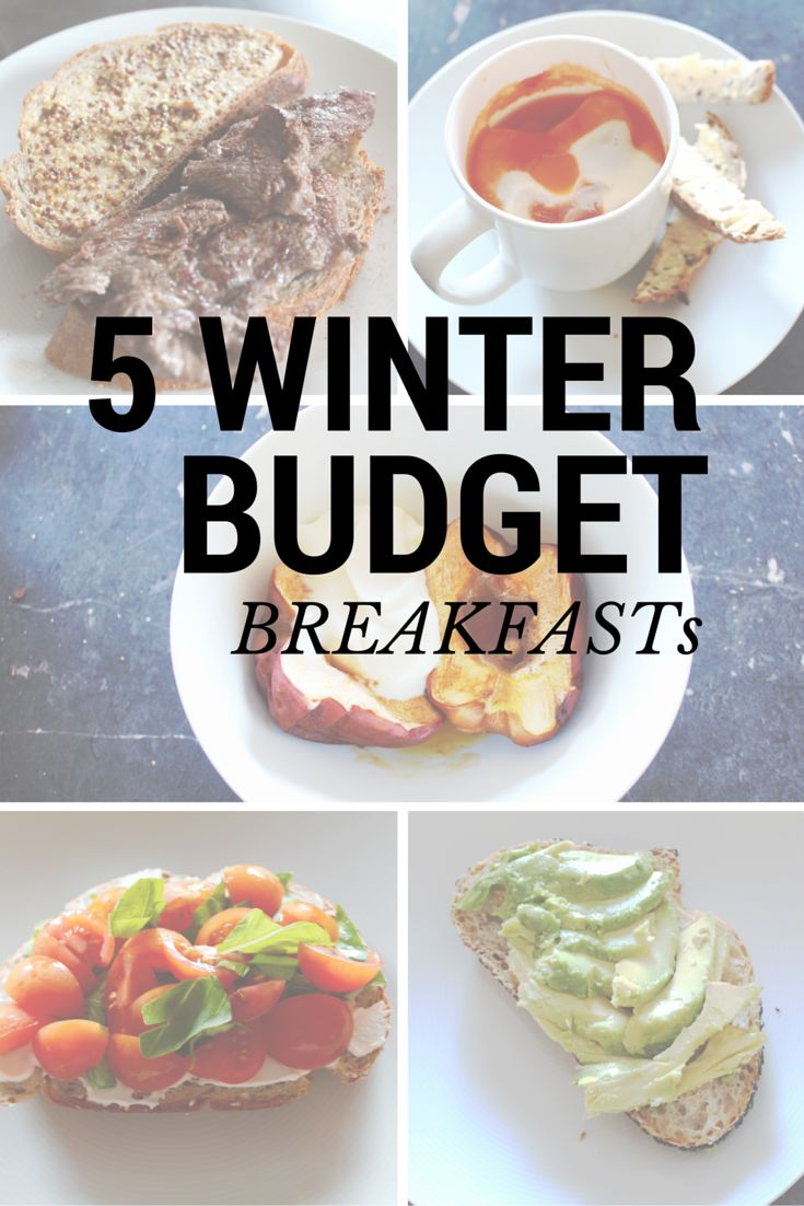 Loving these great healthy breakfasts for winter. Cheap and easy - my key ingredients for a breakfast meal. My personal fav is avocado on toast, cant go wrong!