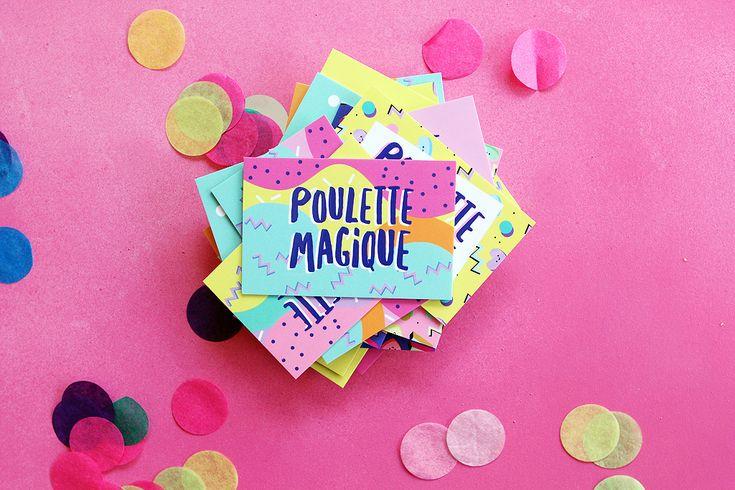 Ma nouvelle identité graphique - Poulette Magique - blog DIY & déco - Narbonne
