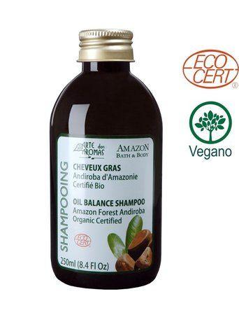 Shampoo Orgânico Andiroba Arte dos Aromas 250ml ECOCERT