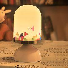 ПРИВЕЛО Ночные Огни Сенсорный Датчик Вибрации Лампы Ночные Огни Детские Украшения Спальни Прикроватный Свет Милый Подарок