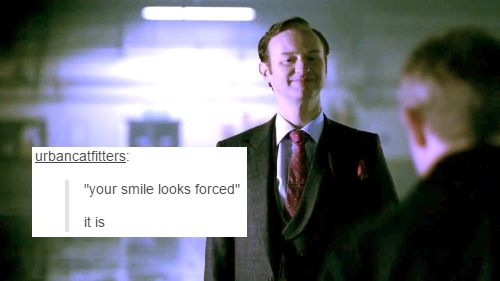 Mycroft Holmes And Text Posts
