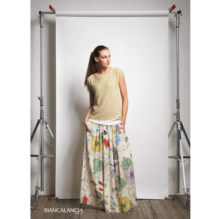 Flower Skirt. Spring Summer 2016/Biancalancia