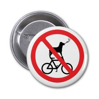 No smoking dogs cycling.