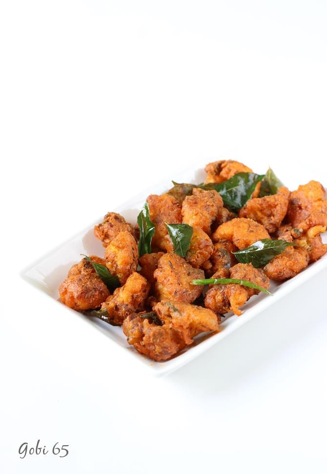 gobi 65 recipe with step by step photos. Learn to make restaurant style cauliflower 65 at home. Delicious, spicy and one of the starters loved by all