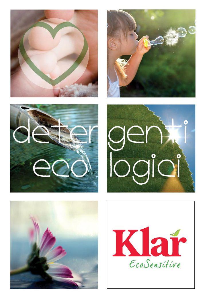 Detergenti ecologici klar  Detergenți ecologici Klar combină eficiența formulelor inovatoare cu blândețea ingredientelor. Gama Klar Sensitive este dedicată persoanelor extrem de sensibile, predispuse la alergii. Produsele Klar au fost create cu respect pentru om și pentru natură.