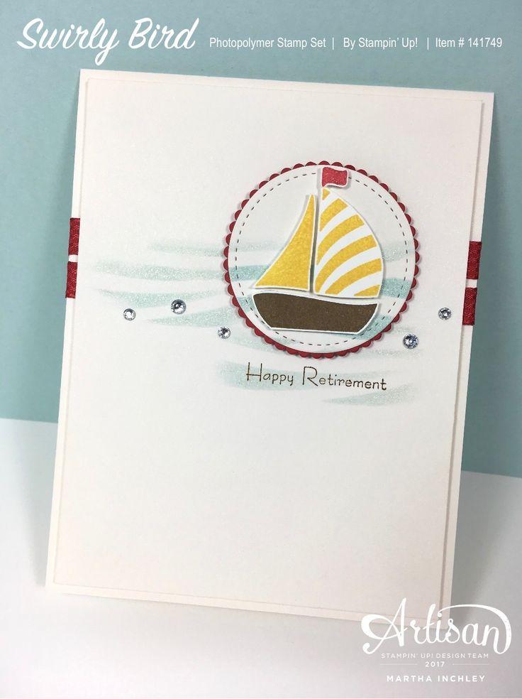 Inch of Creativity: Stamp Review Crew: Swirly Bird