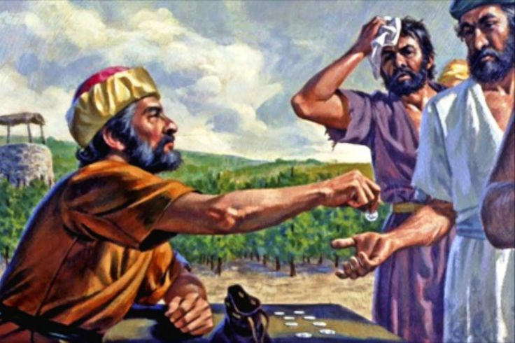 Clic en la imagen y sigue la reflexión del Evangelio de este Domingo  Lectio Divina Dominical XXV del Tiempo Ordinario Ciclo A  «Los últimos serán los primeros y los primeros serán los últimos»  PRIMERA LECTURA: Isaías 55, 6-9 SALMO RESPONSORIAL: Salmo 144, 2-3.8-9.17-18 SEGUNDA LECTURA: Filipenses 1, 20-24.27  TEXTO BÍBLICO: Mateo 20, 1-16 20,1: El reino de los cielos se parece a un hacendado que salió de mañana a contratar trabajadores para su viña.