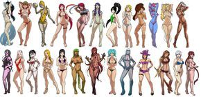 League of Legends sexy girls in swinsuits | League of Legends girls from top left to bottom right ( Ahri, Miss Fortune, Orianna, Katarina, Fiora, Morgana, Akali, Lux, Nidalee, Evelynn, Janna, Riven, Syndra, Irelia, Vayne, Kayle, Sivir, Cassiopeia, Syndra, Sona, Lissandra, Caitlyn, Leona, Sejuani, Shyvana, )