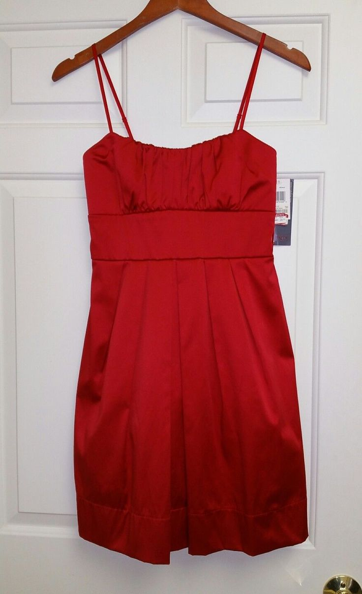 Cocktail dress red 5 dollar