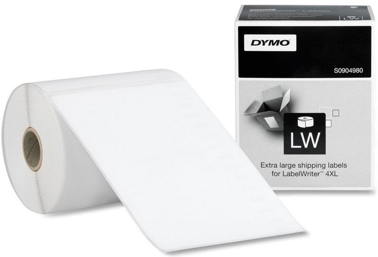 """2 Rolls Genuine Dymo 1744907 4"""" x 6"""" Thermal Shipping Labels For The 4XL Printer #Dymo"""