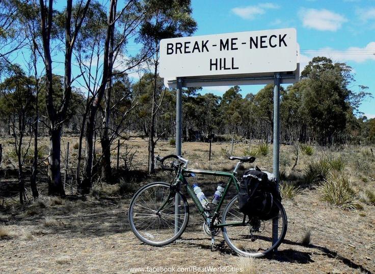 Tasmania. Funny place name. East coast.
