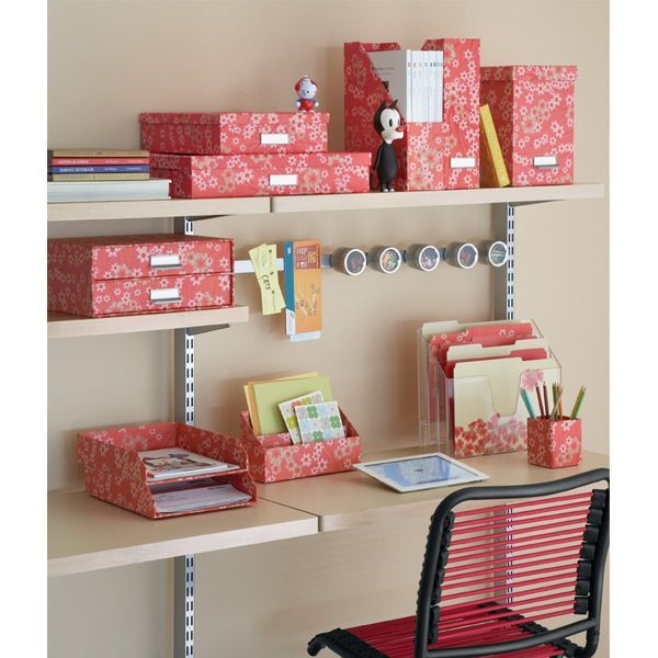 Elegant The Container Store U003e Bigso™ Blossom Stockholm Office Storage Boxes
