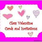 Sweet Valentine messages or party invitations for you and your class. Enjoy!    For more Valentine'...