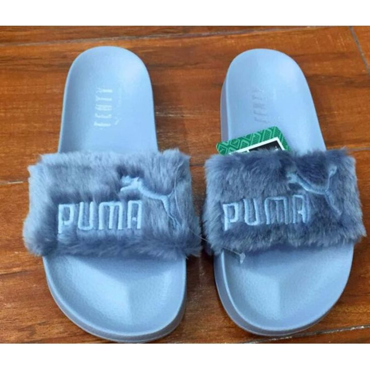 PUMA Fenty Fur Slide by Rihanna on Carousell