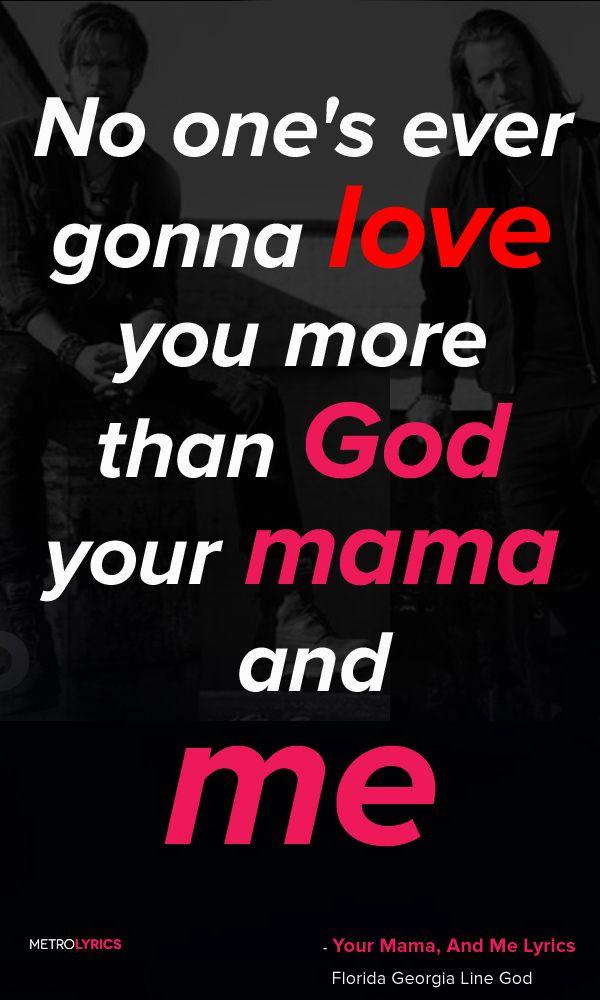 Florida Georgia Line - God, Your Mama, And Me ft. Backstreet Boys Lyrics I love when he sends me songs ❤️