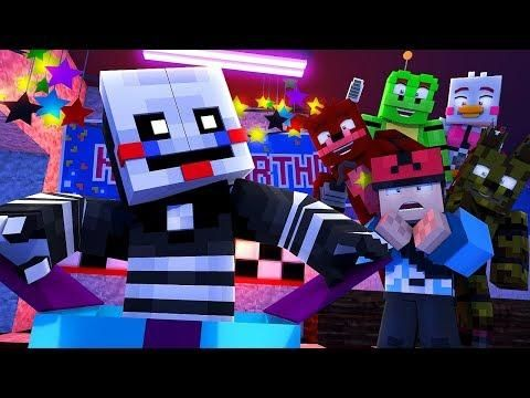 Minecraft Fnaf 6 Pizzeria Simulator Buying Security Puppet