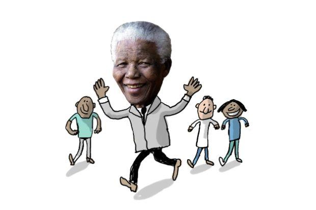La vie de Nelson Mandela présentée aux enfants