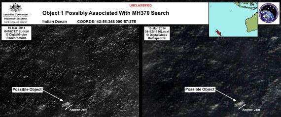 Vol MH370: deux possibles débris repérés au large de l'Australie