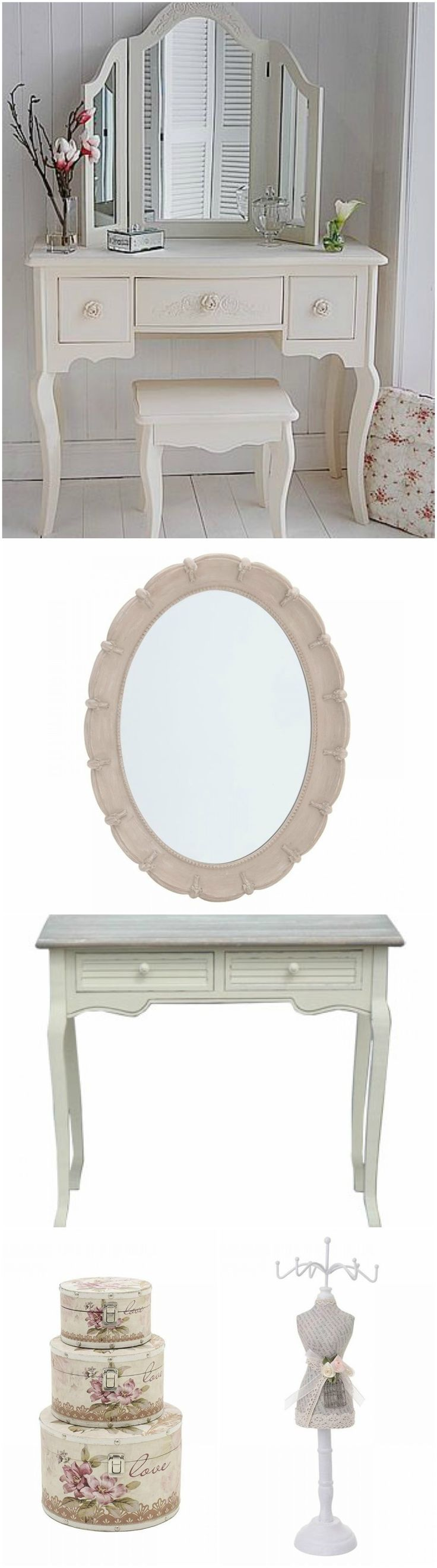 Romantic decor mirror