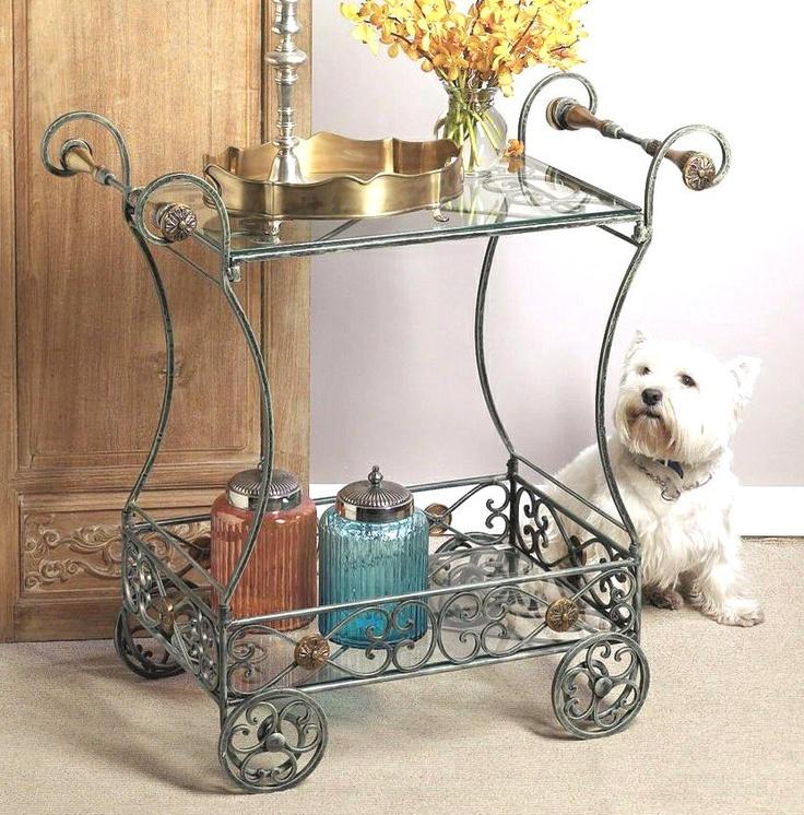 Verdi Iron Tea Cart