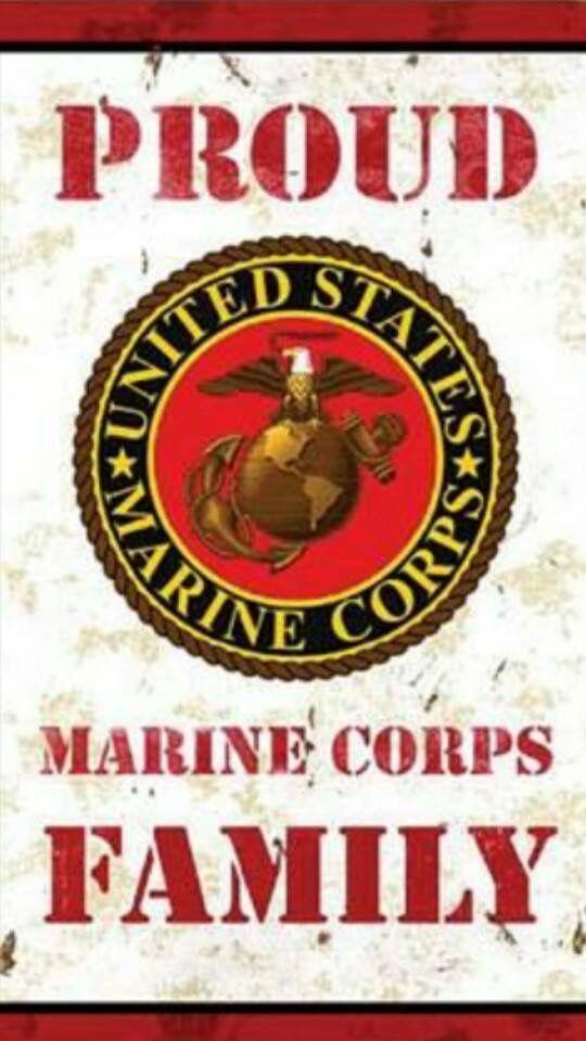Proud Marine Corps Family