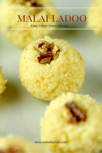 Malai ladoo is an easy and delicious Indian sweet recipe with paneer and condensed milk. If you have paneer handy, you can make this sweet in 15 minutes.