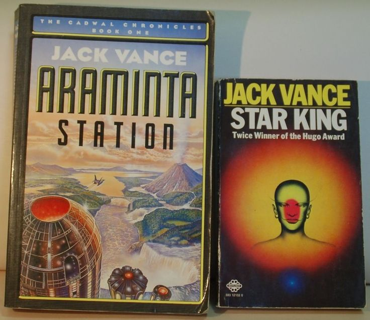Jack Vance's Star King and Araminta Station (first UK Edition) Classic Scifi