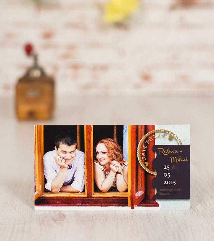 Save the Date: Love Postcard