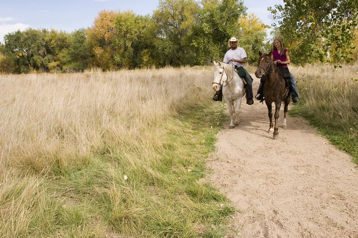 Horseback Riding at Barr Lake State Park | a Colorado state park established in 1977 in Adams County near Brighton, Colorado. The 2,715-acre park has 12 miles of trails, including an 8.8-mile trail that circles Barr Lake.