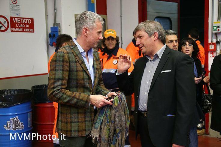 Paolo Poli (AD #mugellocircuit) e Saverio Zeni (@Ok Mugello ) alla #Notte da #Leoni in #Mugello