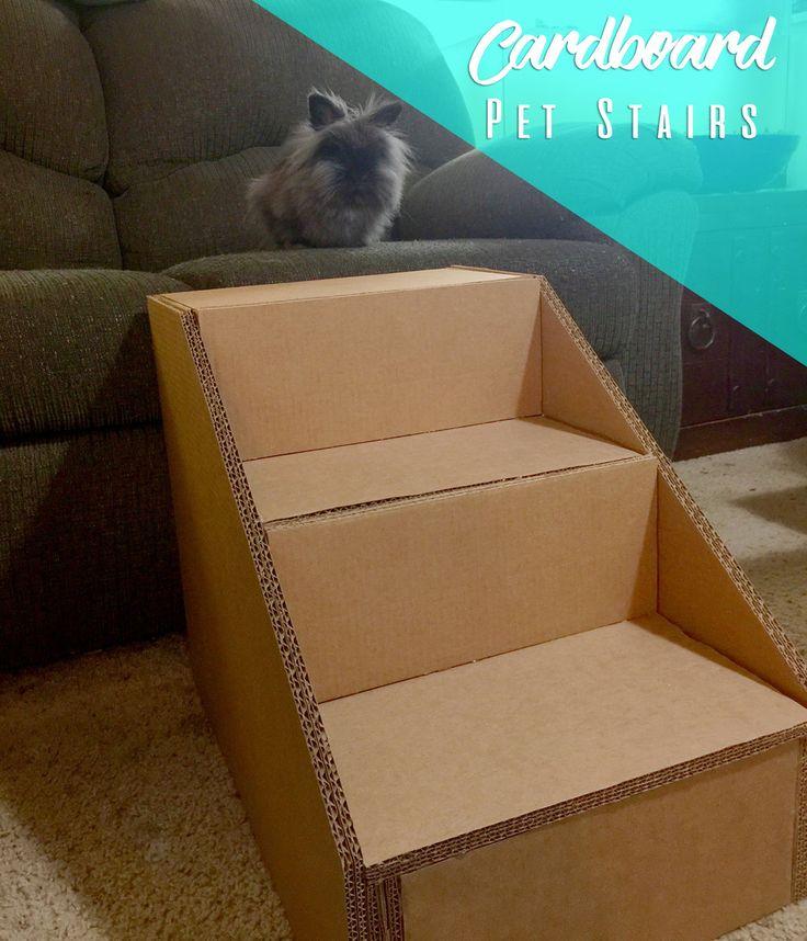 Cardboard Pet Stairs