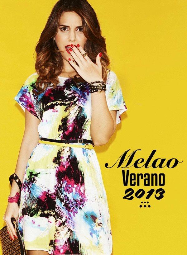 #LookMelao El tie dye en cortes y colores es una opción muy chic de nuestra colección #MelaoVerano2013  #VestidoCaroní www.melao.com.ve