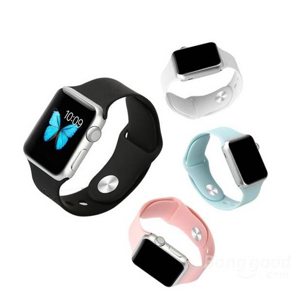 Baseus 42mm Environmental TPU Slim Watchband Wrist Strap For Apple Watch Sale-Banggood.com