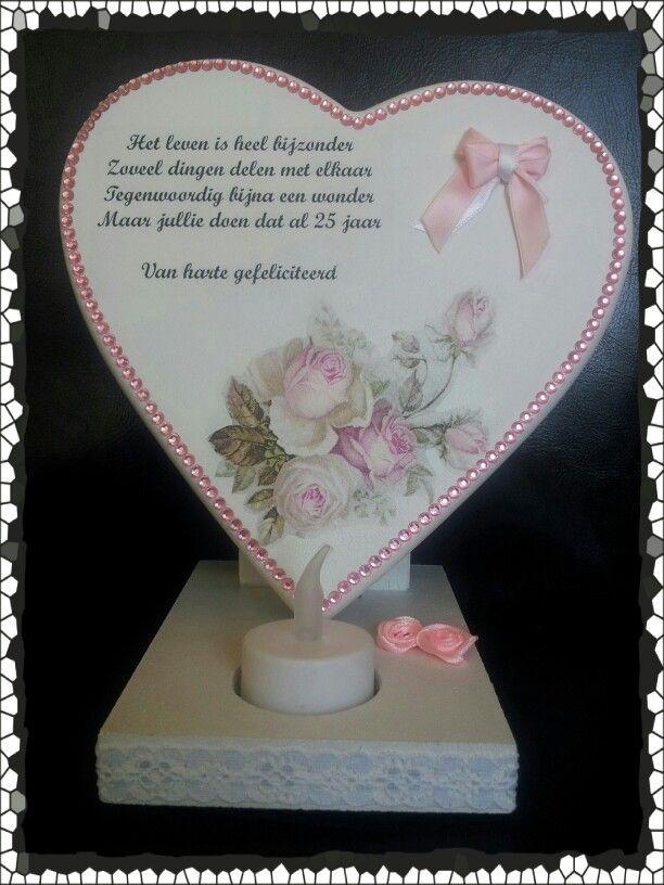 25 jaar getrouwd - Getrouwd | Pinterest