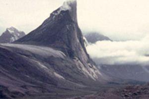 mount thor baffin island nunavut canada